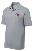 Louisville Male Alumni Hall of Fame MENS ST640 Silver polo