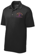 Louisville Male Alumni Hall of Fame MENS ST640 Black polo
