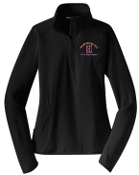 Louisville Male AlumHall of Fame Womens 1/2 zip pullover LST850