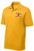 Louisville Male Alumni MENS ST640 Gold polo