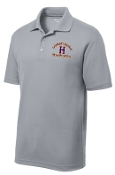 Louisville Male Alumni MENS ST640 Silver polo
