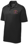 Louisville Male Alumni MENS ST640 Black polo