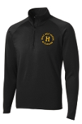 Louisville Male Alumni 50 Yr Club Mens TALL1/2 zip TST850