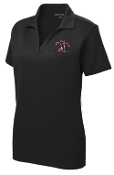 Louisville Male Alumni Hall of Fame LADIES LST640 Black polo