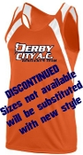 Derby City AC Orange Jersey DISCONTINUED Aug 311A Aug 312 Y