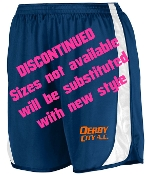 Derby City Navy shorts Aug 327/328 DISCONTINUED