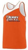 Derby City AC Orange Jersey Augusta 352 Adult or Aug 353 Youth