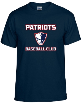 Patriot Baseball Club Cotton Blend T shirt G8000
