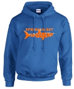 Springhurst Sharks Royal Blue Hooded sweatshirt G18500