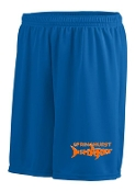 Springhurst Sharks Augusta moisture wicking 7 inch shorts 1425