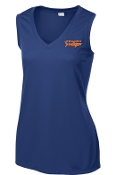 Springhurst Sharks sleeveless V Neck moisture wicking LST352