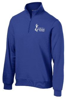 Milestone Wellness Mens Fitness Specialist quarter zip ST253