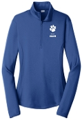 CEC Basketball Womens 1/4 zip LST357