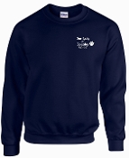 Our Lady of Lourdes EMBROIDERED CREWNECK sweatshirt G180